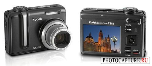 Kodak EasyShare Z712 IS, Z885, C613 и C763
