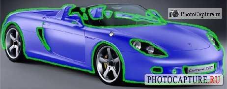 Замена цвета в photoshop