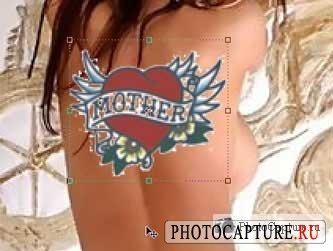 Татуировка на фотографию