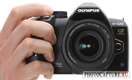 Камера Olympus E-520 со встроенным стабилизатором дебютировала официально