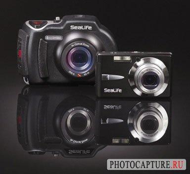 Фотокамера SeaLife D800 снимает на глубине до 60 метров