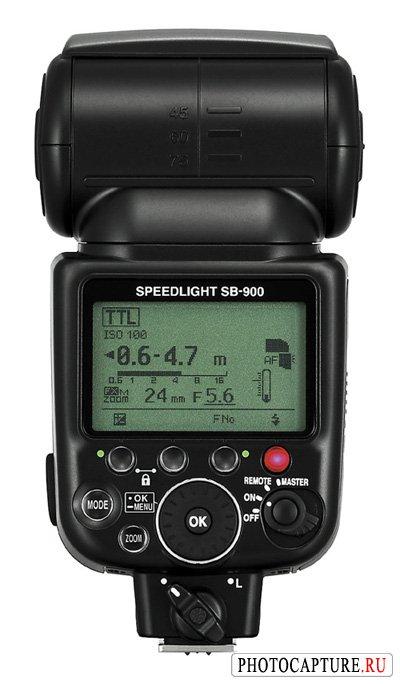 Nikon Speedlight SB-900 новая вспышка для новой камеры