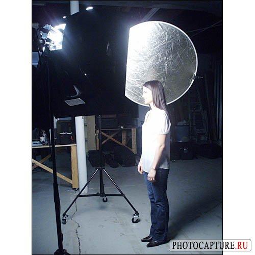 Съемка портрета в помещении - это просто