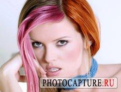 Покраска волос в фотошоп