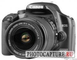 Canon EOS 450D - новая 12-мегапиксельная зеркалка начального уровня