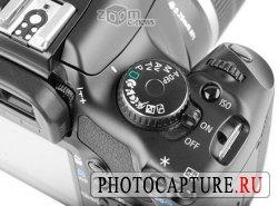 Наконец-то у всех зеркалок Canon появилась отдельная кнопка ISO