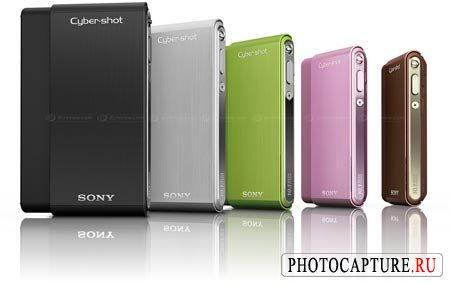Sony Cyber-shot DSC-T77 и DSC-T700
