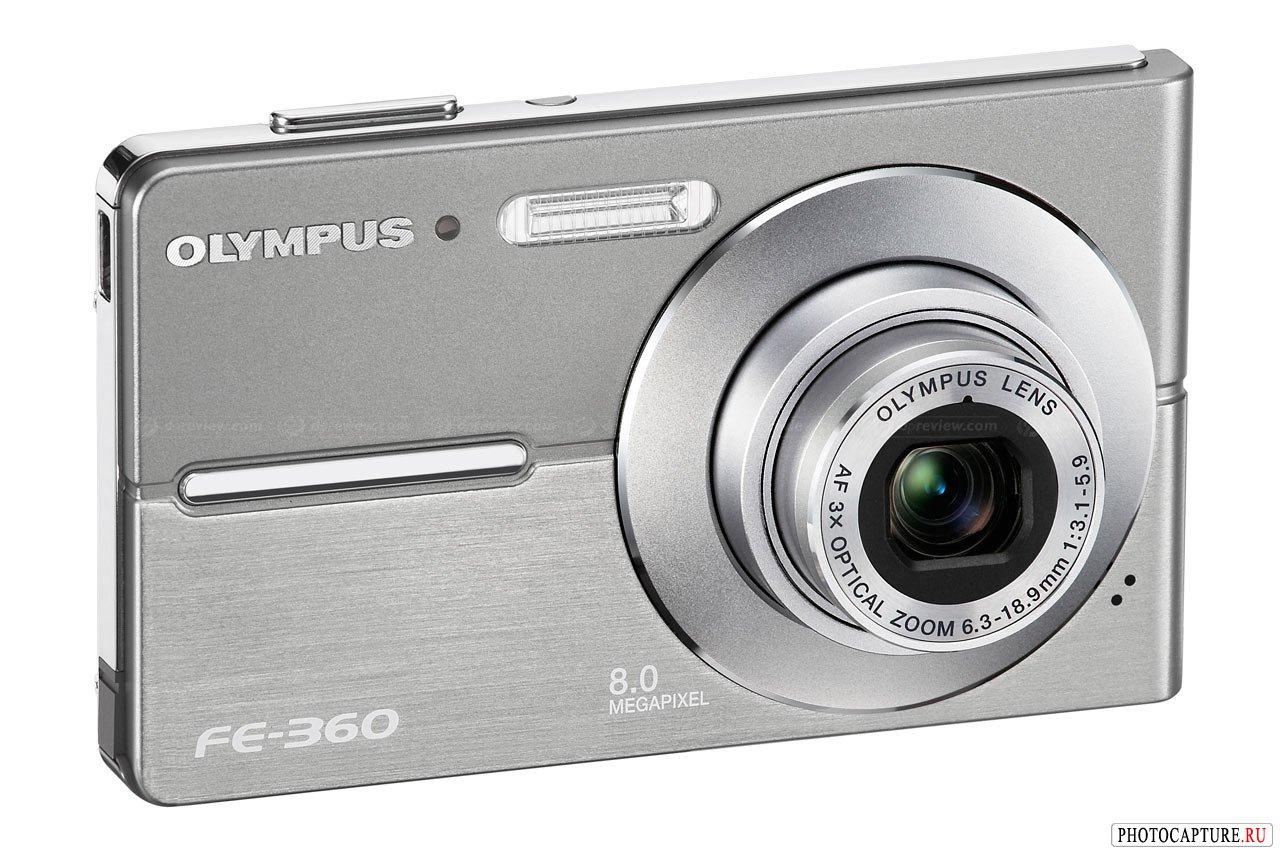 FE-360 и FE-370 от Olympus