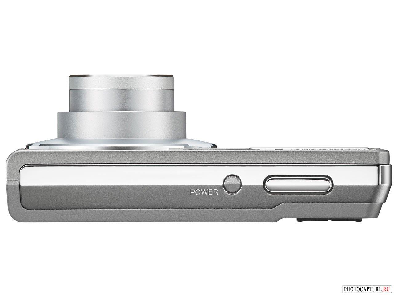 Olympus FE-360 - вид сверху
