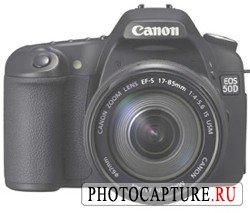 Информация о DSLR Canon EOS 50D