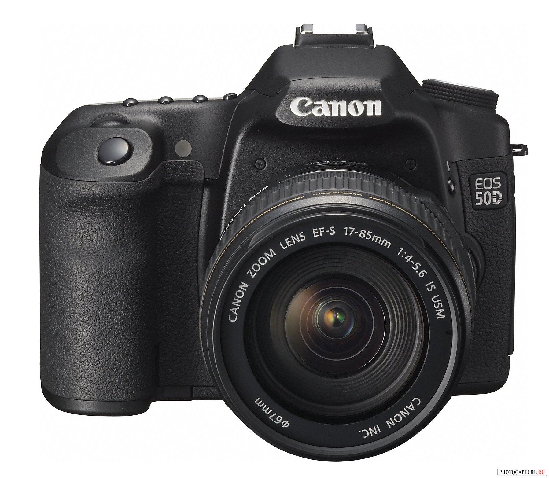 Веб-сайт о Canon EOS 50D