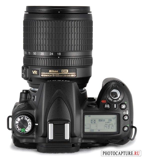 Зеркалка с записью HD видео - Nikon D90