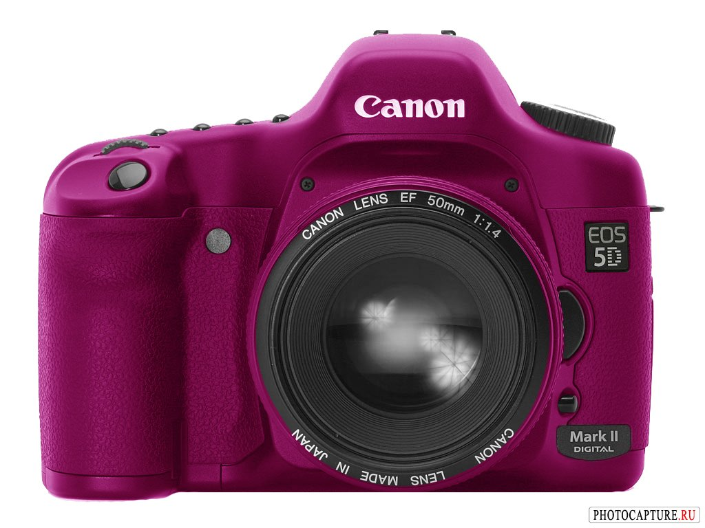 Слухи о Canon EOS 5D Mark II