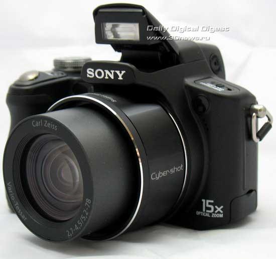 Тест ультразума Sony DSC-H50