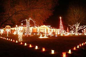 Съёмка Рождественских и Новогодних огней