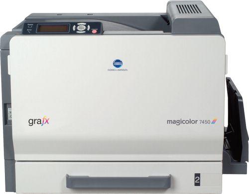 CES 2009: принтер magicolor 7450 II grafx