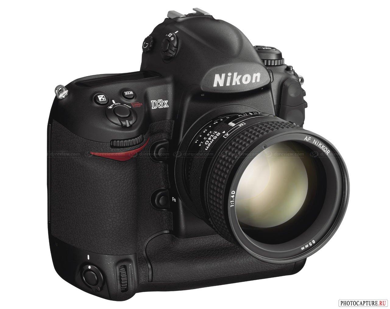 Лучшим по тесту DxOMark стал Nikon D3x