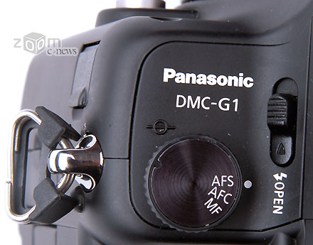 Panasonic G1 вид сверху