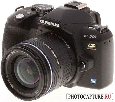 Цифровая зеркальная фотокамера Olympus E-510