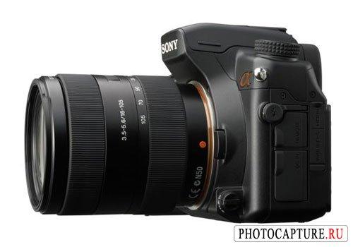 Левая панель цифровой зеркальной фотокамеры Sony DSLR-A700