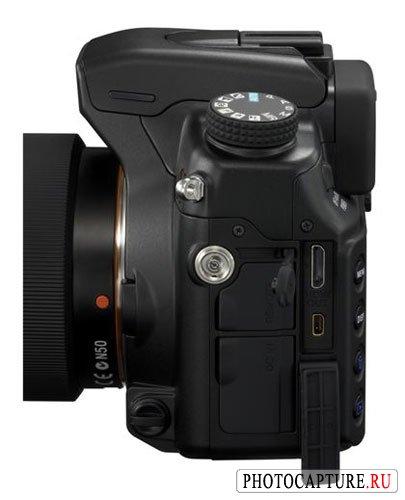 Разъемы цифровой зеркальной фотокамеры Sony DSLR-A700