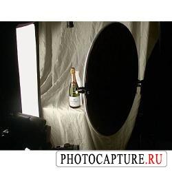 Отражение и пропускание света при съемке стеклянных изделий