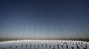 Солнечная тепловая электростанция недалеко от Севильи в Испании. 6 ноября 2008 год. REUTERS/Marcelo Del Pozo