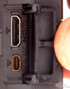 Разъёмы HDMI и цифровой видеовыход