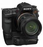 Цифровая зеркальная фотокамера Sony DSLR-A700 с вертикальной рукояткой