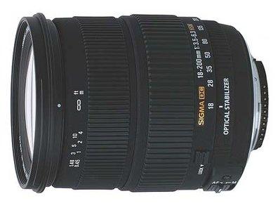 Новый объектив SIGMA 18-250 мм f/3,5-6,3 DC OS HSM