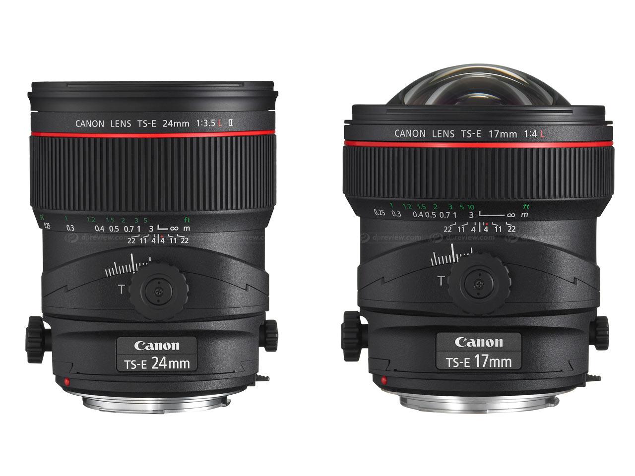 Pre-PMA 2009: два широкоугольных Tilt-Shift-объектива от Canon