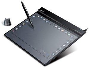 Функциональный цифровой планшет Genius G-Pen F-509