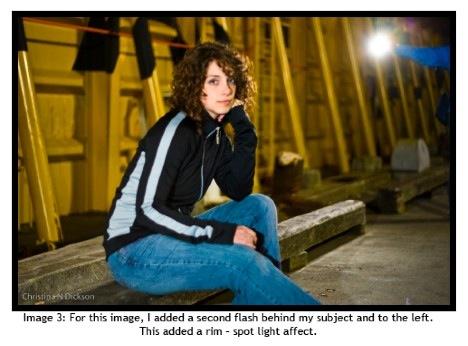 Как использовать вспышку для ночных портретов