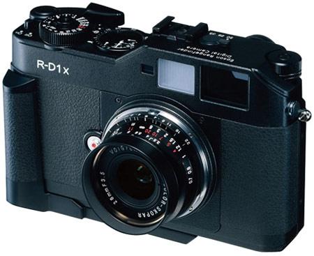 PMA 2009: Epson обновляет цифровую дальномерную камеру R-D1