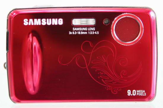 Женская камера Samsung PL10 La Fleur запоминает лица