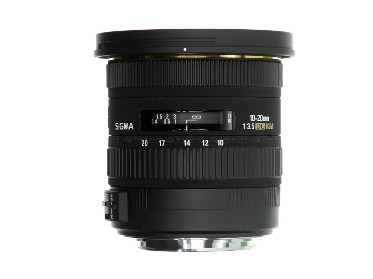 Sigma 10-20 мм f/3,5 EX DC HSM