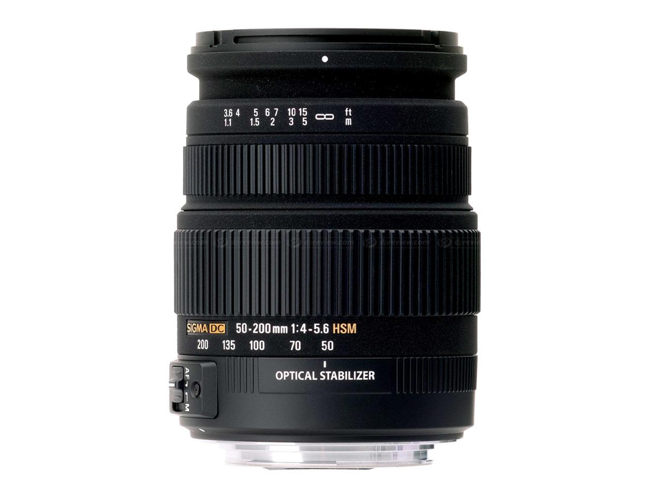 Sigma 50-200 мм f/4-5,6 DC OS HSM