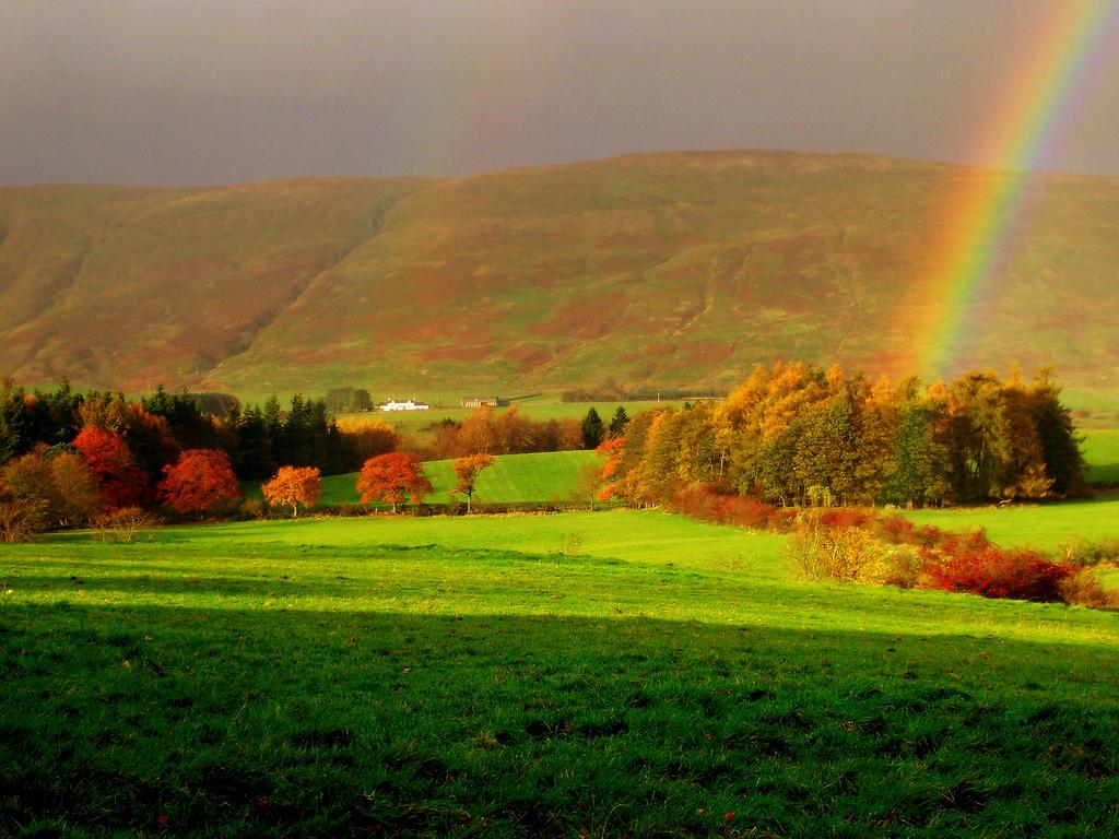 Как фотографировать радугу